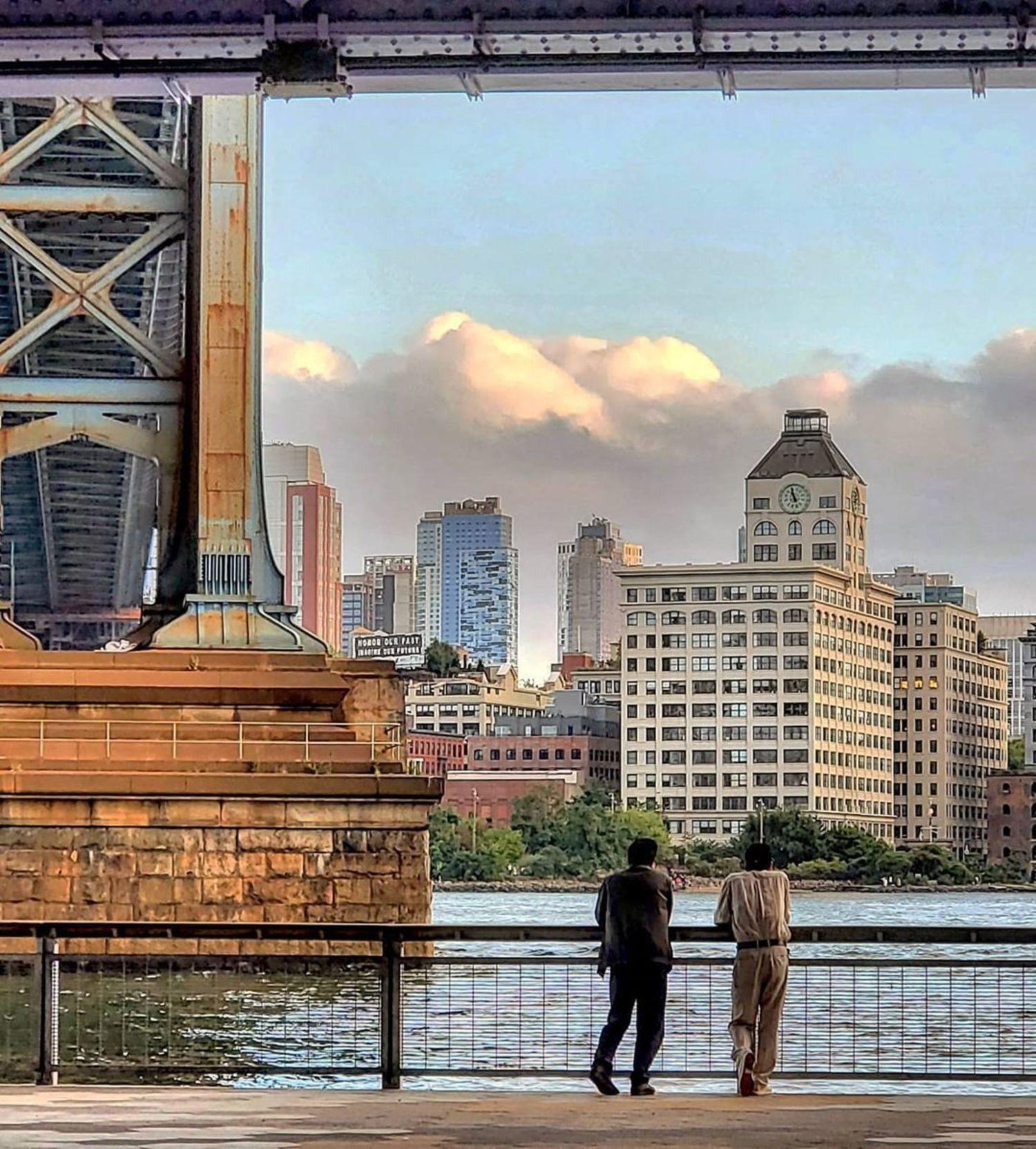 Under Manhattan Bridge, Two Bridges, Manhattan