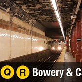 NYC Subway: Bowery and Canal Street