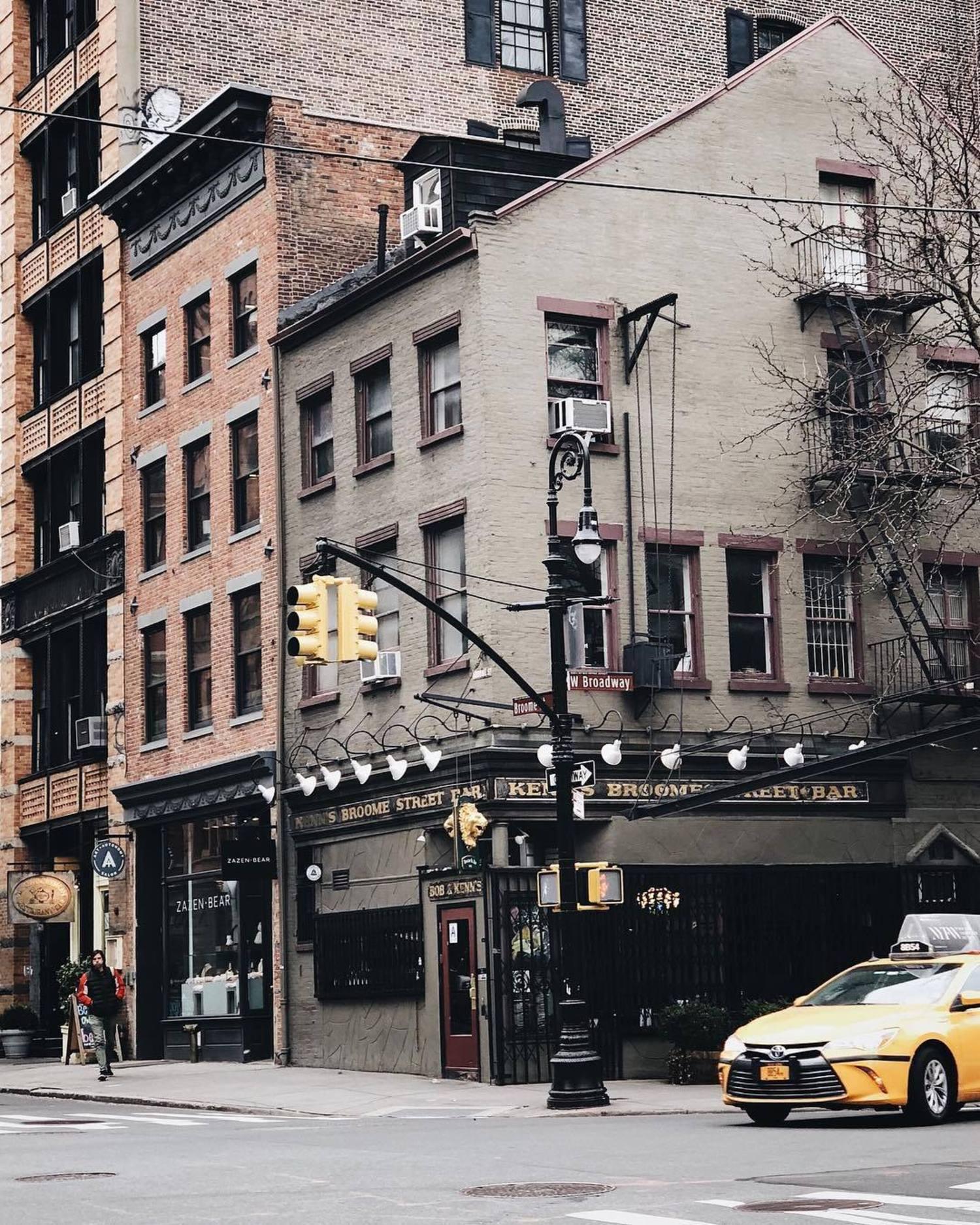 West Broadway & Broome St., SoHo, New York, New York