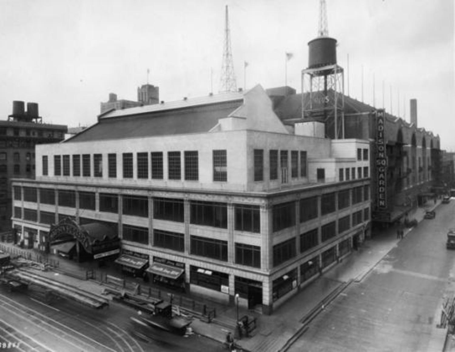 Madison Square Garden III. Why be fancy? Tex Rickard, moving the venue uptown to 50th Street, was more concerned with the entertainment inside than the flash and fancy outside.