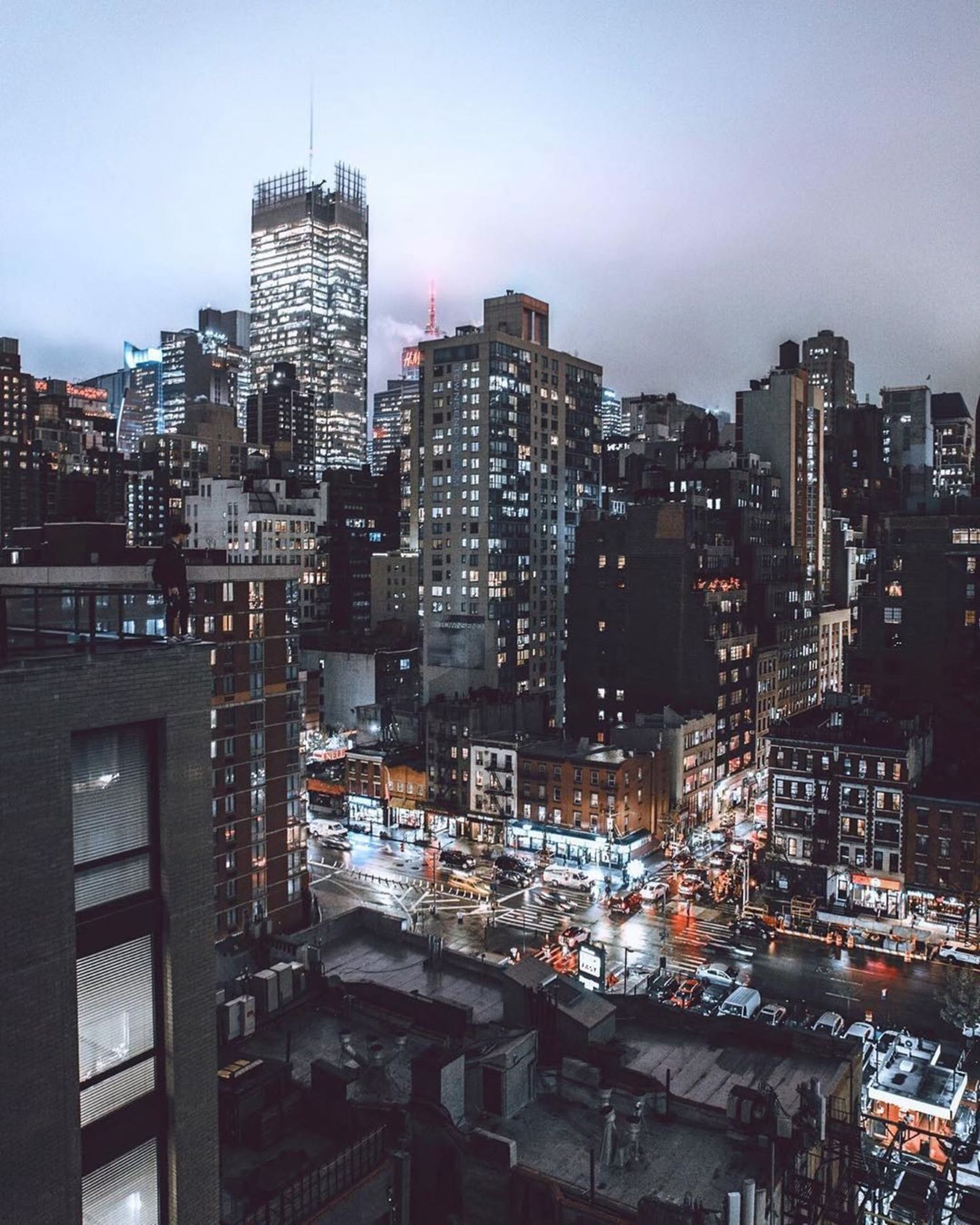 New York, New York. Photo via @raves_ #viewingnyc #nyc #newyork #newyorkcity