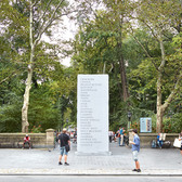 MEMORIAL, David Shrigley, Central Park NYC 2016