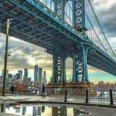 Manhattan Bridge, DUMBO, Brooklyn, New York