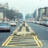 Brooklyn, Fourth Avenue, looking north from 55th Street, circa 1970