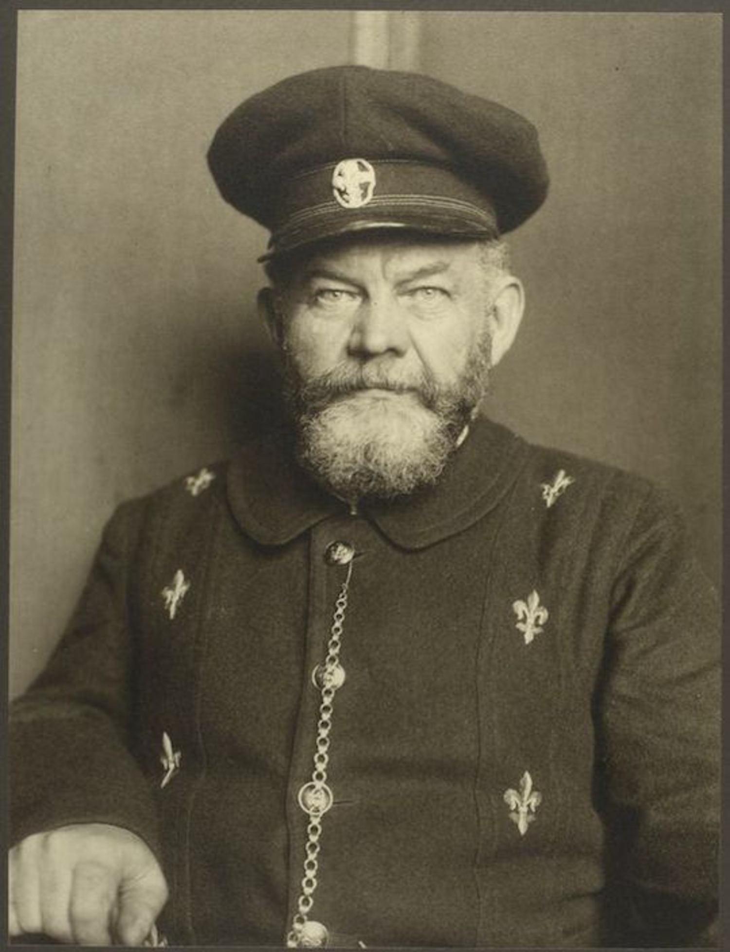 A Danish man. Portraits for Ellis Island.