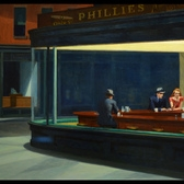 Edward Hopper - Nighthawks  JPB | 1941 Oil on Canvas Art Institute of Chicago