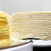 This crepe cake has too many layers to count