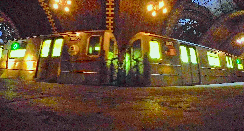 Peek Inside Abandoned City Hall Subway Station, New York ...