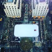Rock Center from above 🎄❄