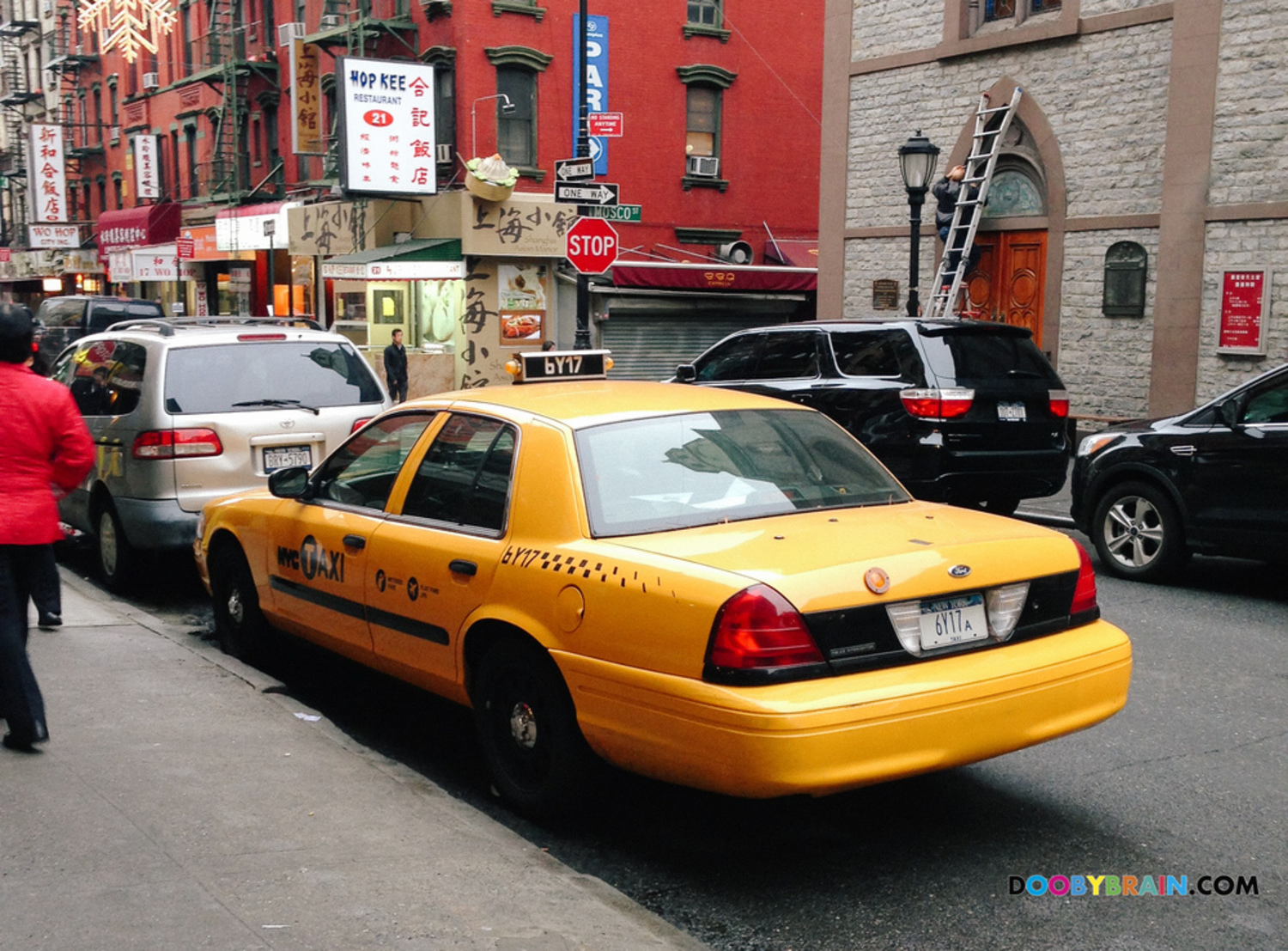 Photo guide to NYPD's fleet of undercover taxi cabs