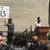 Kerry Washington at #KEEPFAMILIESTOGETHER Rally, 6/30/18, Brooklyn NY