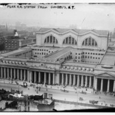 Penn. RR Station from Gimbel's N.Y., ca 1910