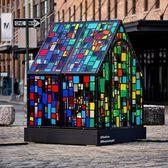 Bombora House, Tom Fruin, Gansevoort Plaza, Meatpacking District, Manhattan