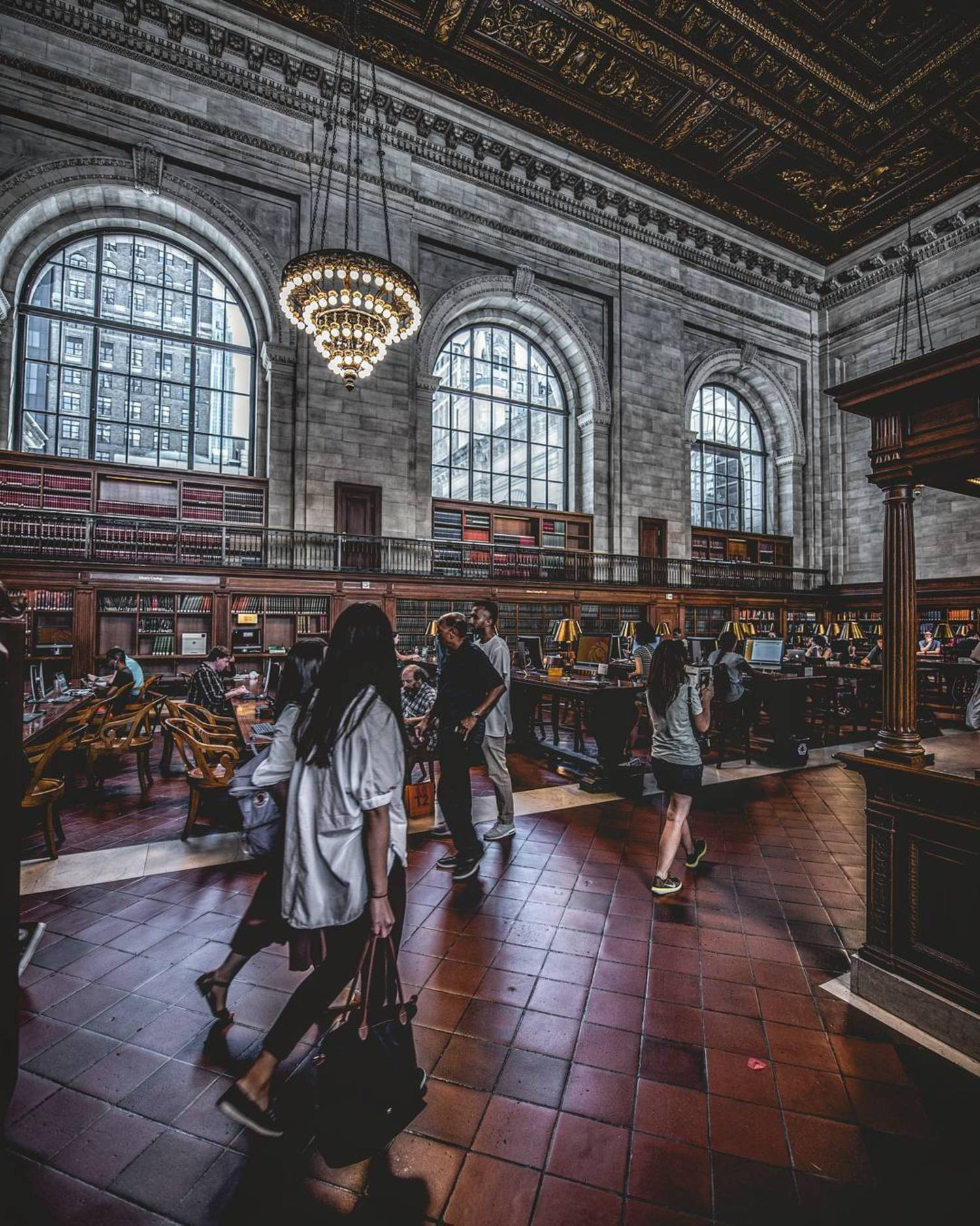 Stephen A. Schwarzman Building, New York Public Library, New York, New York