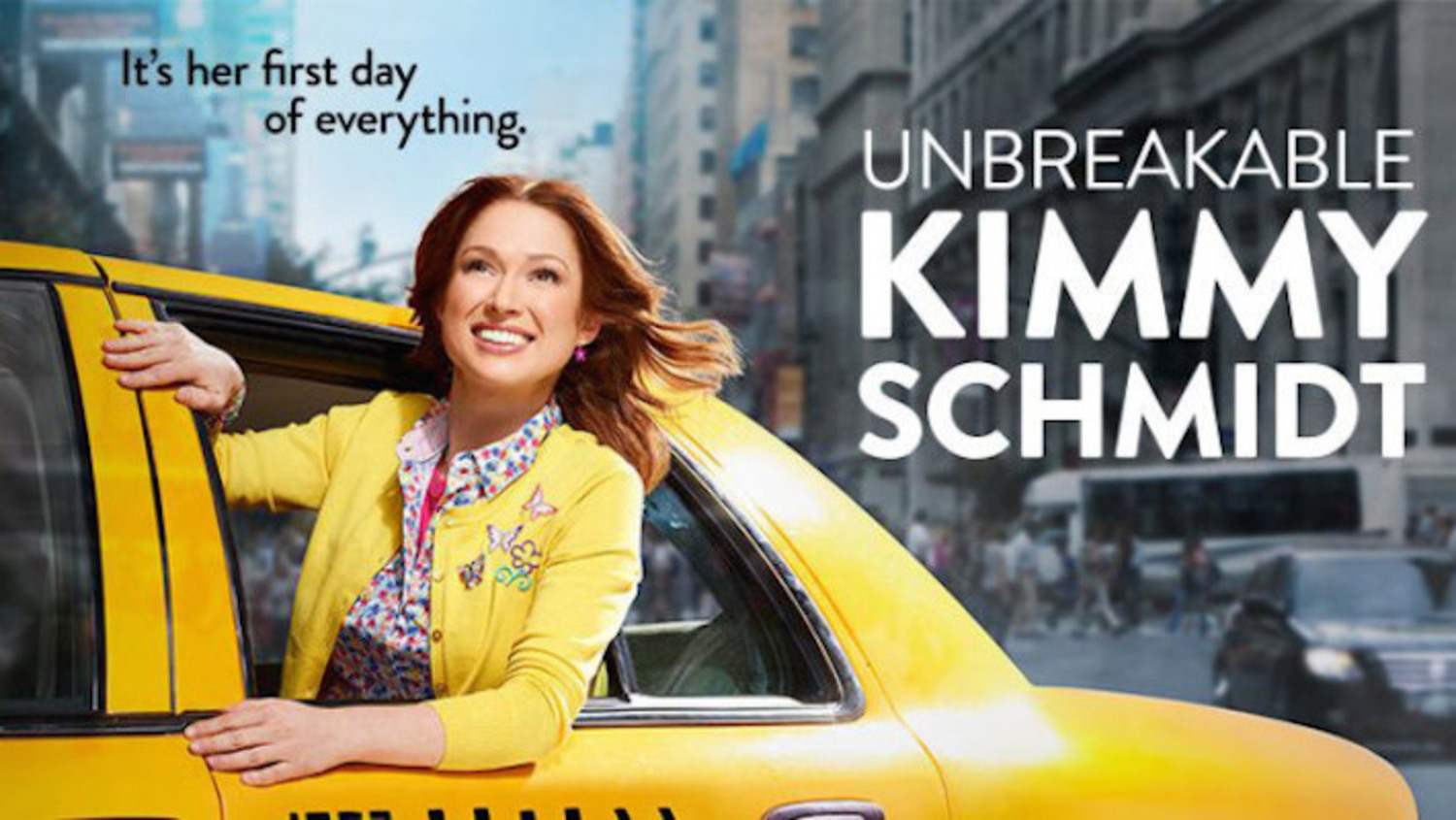 """Meet Ellie Kemper's UNBREAKABLE KIMMY SCHMIDT In Trailer For New Netflix Series 