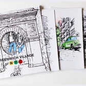 BLOCKS NYC Coloring Book: Music Scene in Greenwich Village