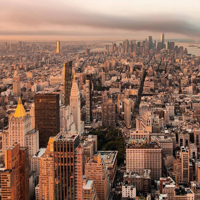 New York, New York. Photo via @nyclovesnyc #viewingnyc #nyc #newyork #newyorkcity