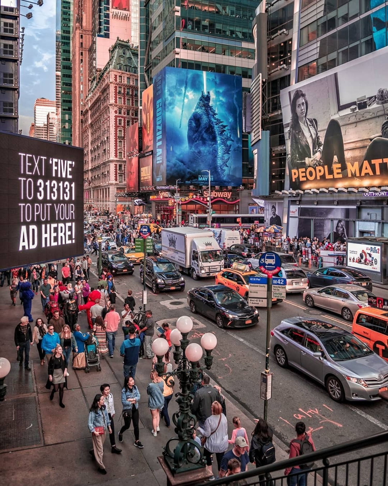 42nd Street, Times Square, New York, New York