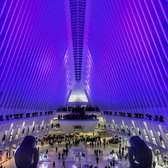 The Oculus Holiday Light Show, WTC