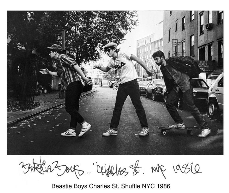 Beastie Boys Charles St. Shuffle NYC 1986