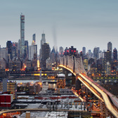 432 Park Ave and Queens Bridge | The new pencil tower.  Heatherwood LIC QUEENS NYC