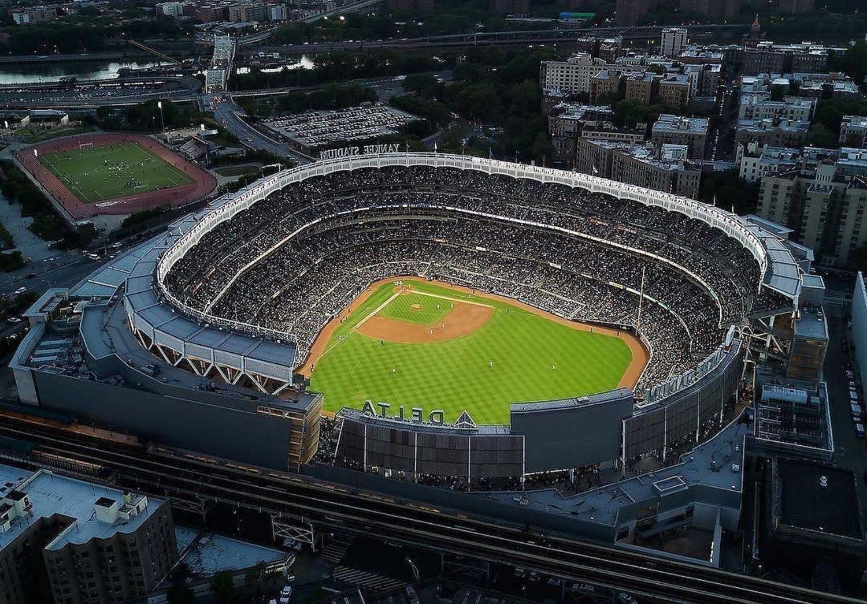 Yankee Stadium, Bronx, New York. Photo via @thebronxer #viewingnyc #newyorkcity #newyork
