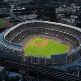 Yankee Stadium, Bronx, New York. Photo via @thebronxer #viewingnyc #newyorkcity #newyork