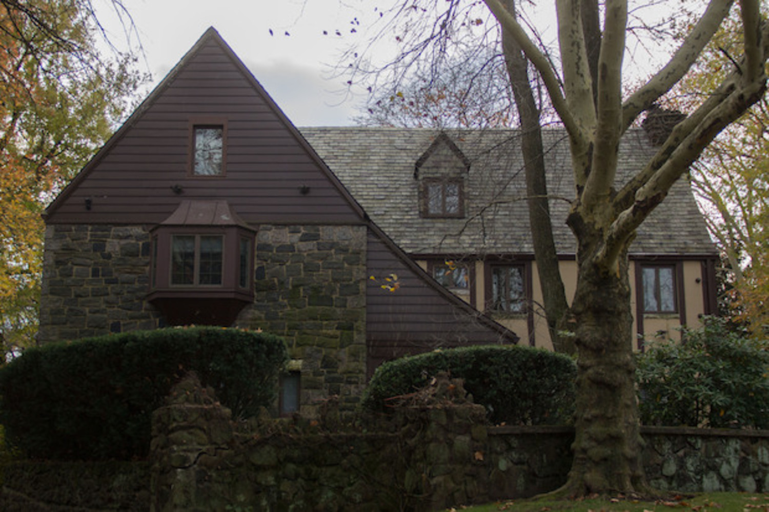"The Staten Island mansion used for exterior shots in the film ""The Godfather"" hit the market on Nov. 3 for $2.8 million."