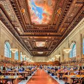 Rose Reading Room, Main Branch, New York Public Library, Manhattan.