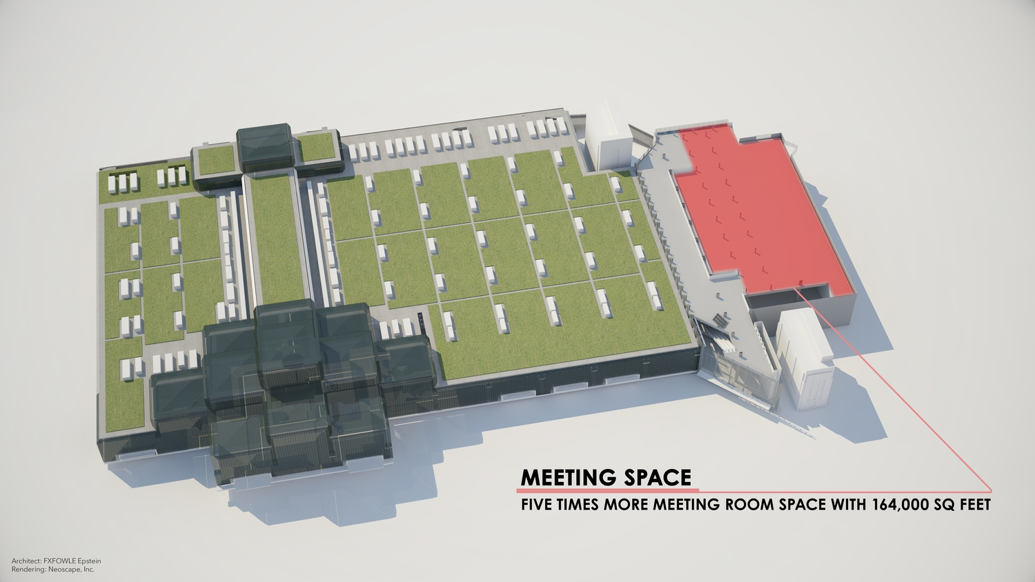 Javits Center Renderings: Meeting Space