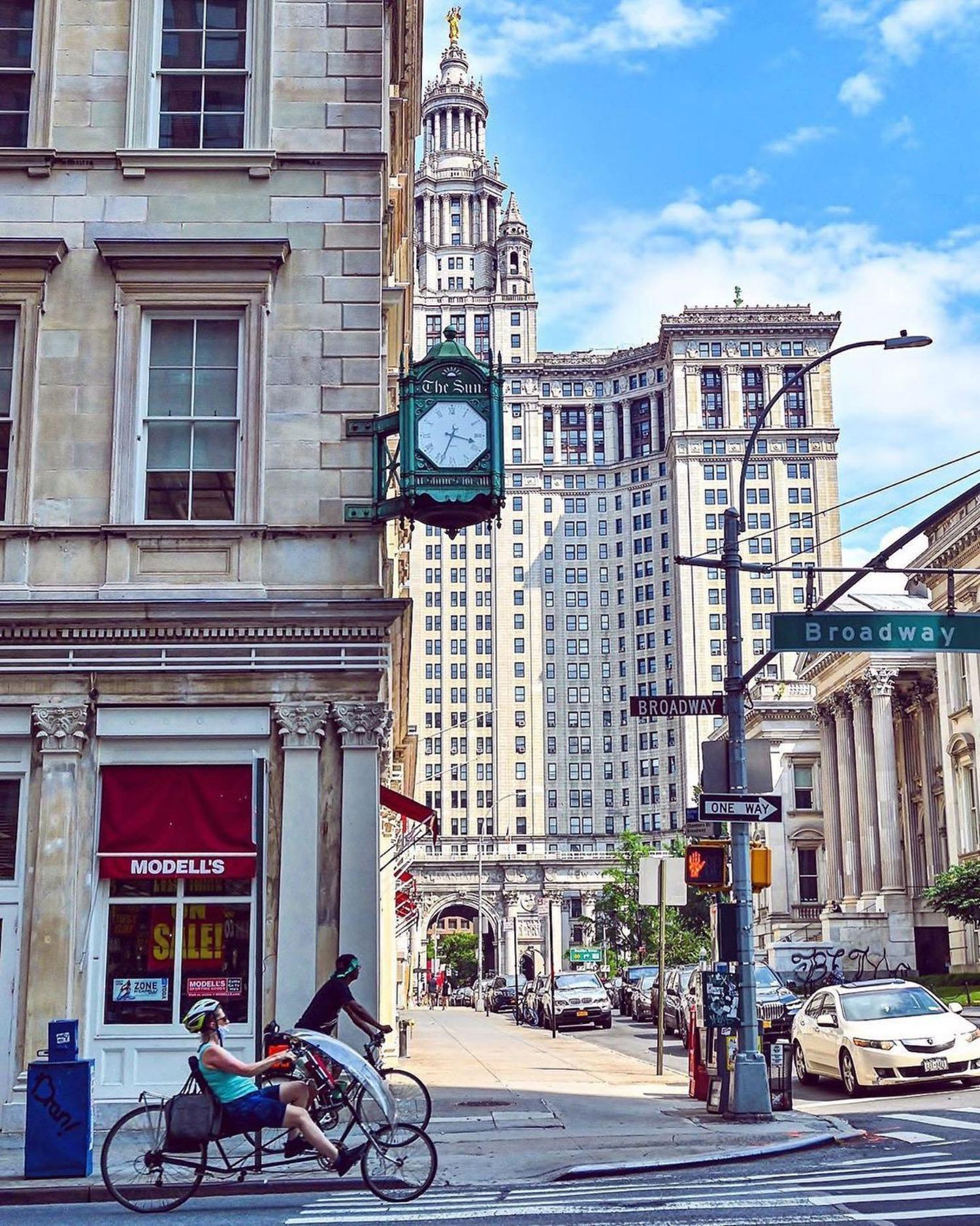 Manhattan Municipal Building, Civic Center.