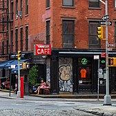 Fanelli Café, Prince Street and Bleecker Street, SoHoo, Manhattan
