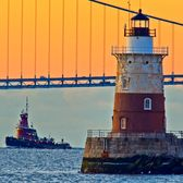 Robbins Reef Lighthouse, New York Harbor