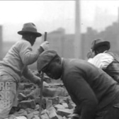 Oct 1934 - Lower East Side Slums, NYC (real sound)