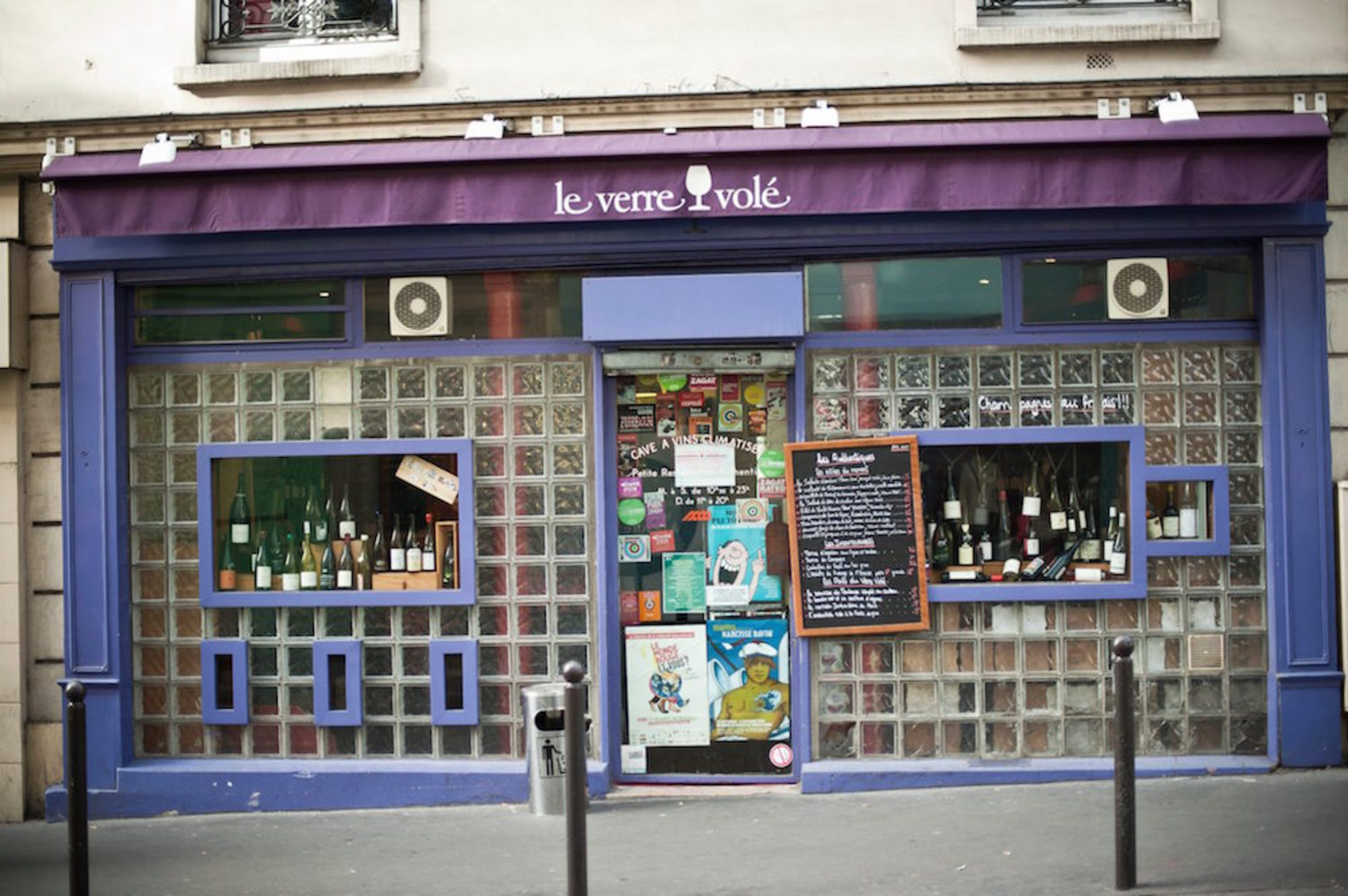 Le Verre Volé in Paris
