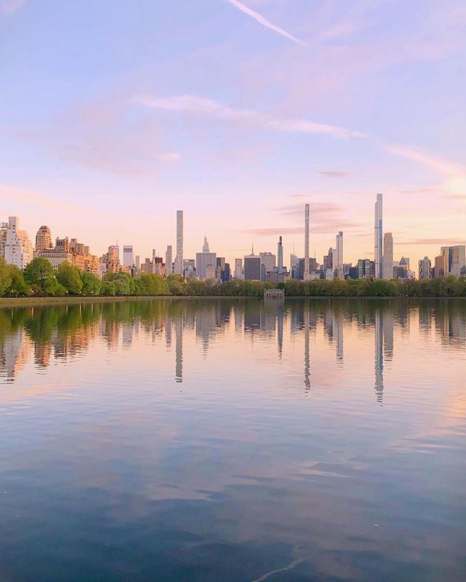 Jacqueline Kennedy Onassis Reservoir, Central Park, Manhattan