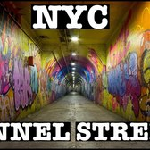 NYC DEEPEST SUBWAY STATION & TUNNEL STREET PASSAGEWAY: 191st STREET MTA 1 TRAIN
