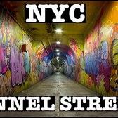 NYC DEEPEST SUBWAY STATION & TUNNEL STREET PASSAGEWAY: 191st STREET MTA 1 TRAIN