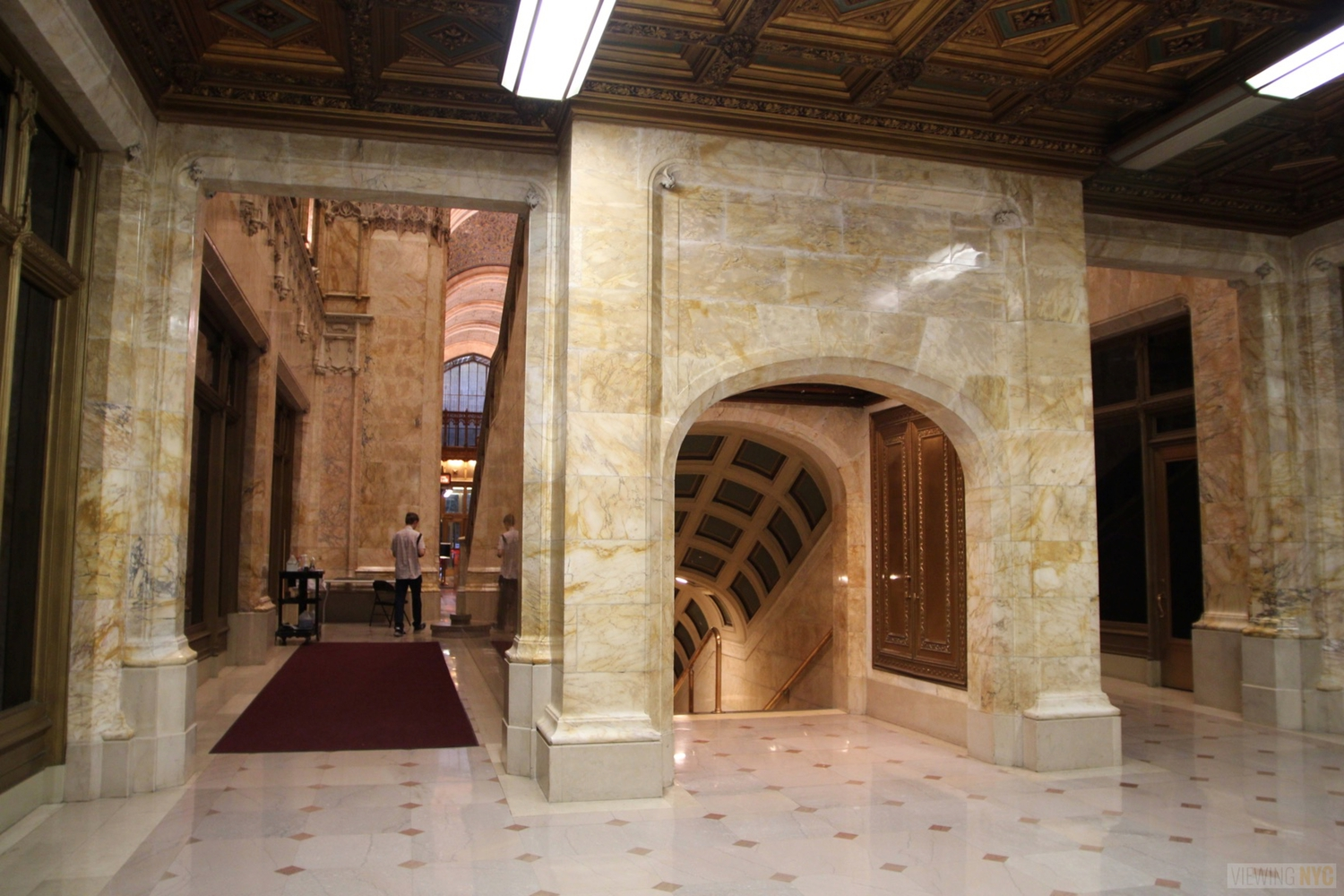 Woolworth Building Lobby and Basement Tour 90