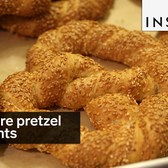 These are pretzel croissants