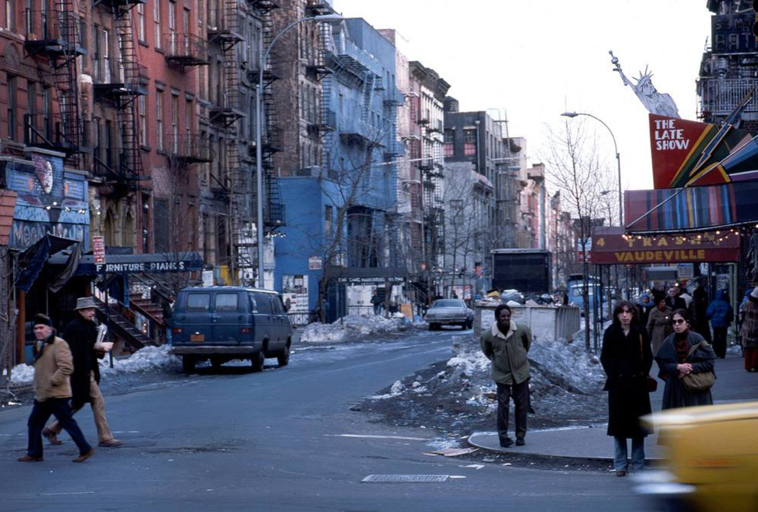 A quick trip to St. Mark's Place circa 1978