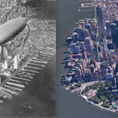 1930s New York City cityscape vs. today