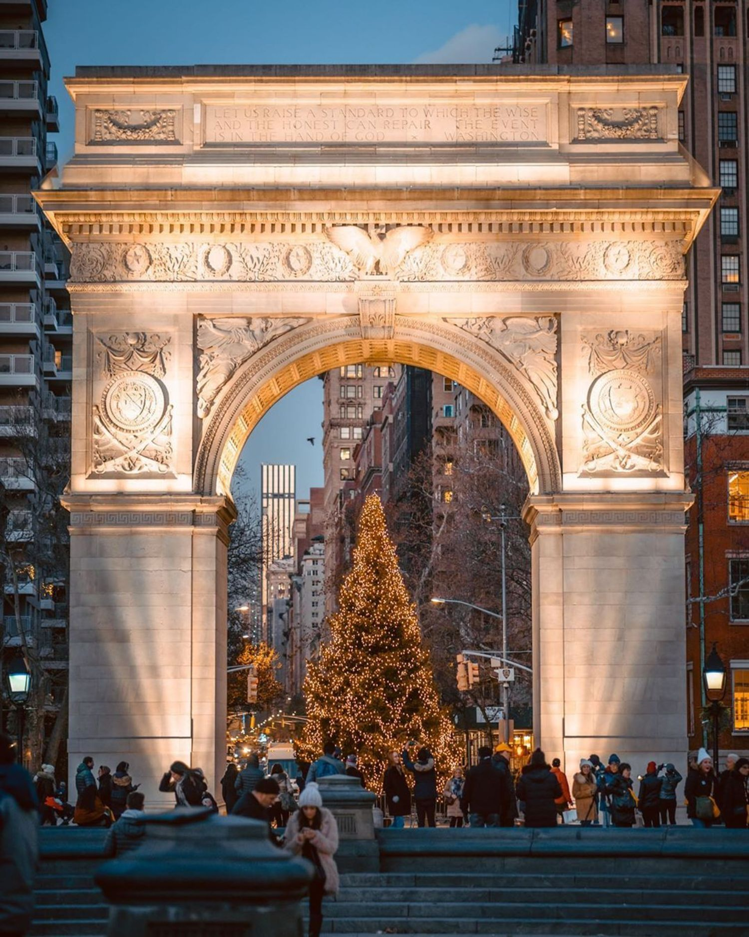 Washington Square Arch, Greenwich Village, Manhattan