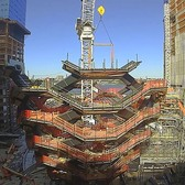 "Time Lapse of Hudson Yards' ""The Vessel"" under construction"