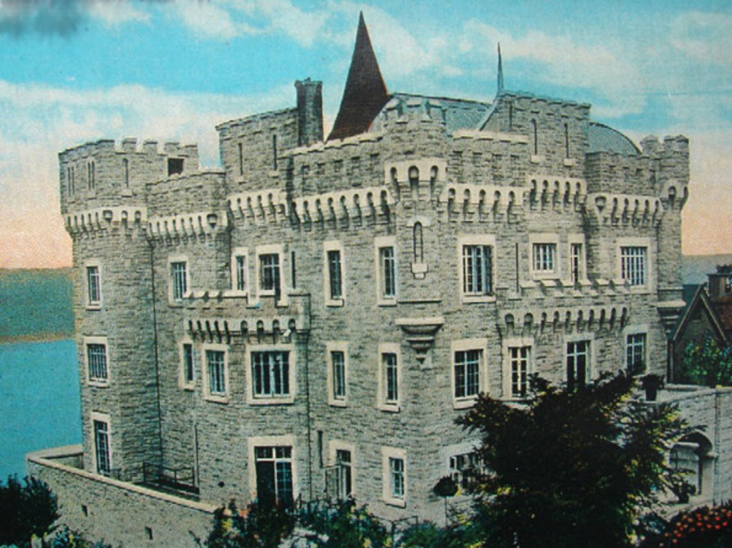 Postcard of Paterno Castle, early 1930s