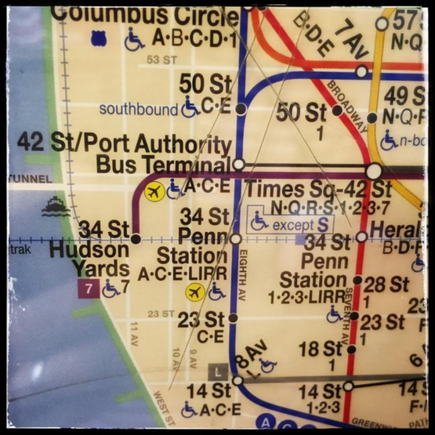 Ny Subway Map 7 Train.Mta Subway Maps Updated To Reflect New 34th St Hudson Yards