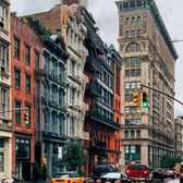 Broome Street and Crosby Street, SoHo, Manhattan