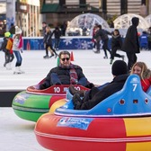 FrostFest: Bumper Cars. Bump, slide, and ride on the ice!