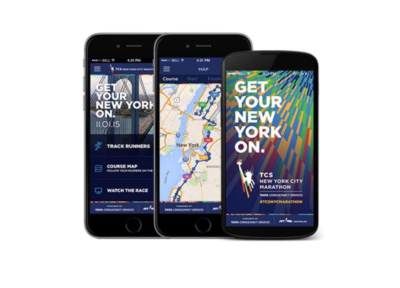 TCS NYC Marathon App