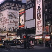 Dusk in Times Square, 1965